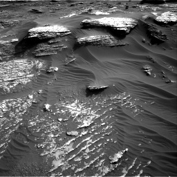Nasa's Mars rover Curiosity acquired this image using its Right Navigation Camera on Sol 1802, at drive 2762, site number 65