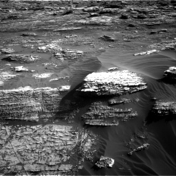 Nasa's Mars rover Curiosity acquired this image using its Right Navigation Camera on Sol 1802, at drive 2780, site number 65