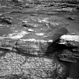 Nasa's Mars rover Curiosity acquired this image using its Right Navigation Camera on Sol 1802, at drive 2786, site number 65