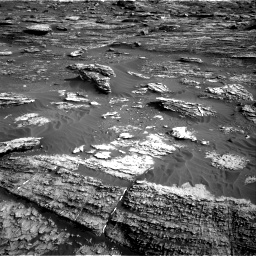 Nasa's Mars rover Curiosity acquired this image using its Right Navigation Camera on Sol 1802, at drive 2798, site number 65