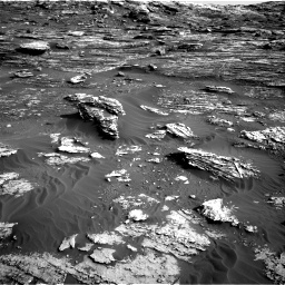 Nasa's Mars rover Curiosity acquired this image using its Right Navigation Camera on Sol 1802, at drive 2804, site number 65
