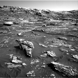 Nasa's Mars rover Curiosity acquired this image using its Right Navigation Camera on Sol 1802, at drive 2810, site number 65
