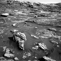 Nasa's Mars rover Curiosity acquired this image using its Right Navigation Camera on Sol 1802, at drive 2816, site number 65