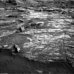 Nasa's Mars rover Curiosity acquired this image using its Right Navigation Camera on Sol 1802, at drive 2864, site number 65