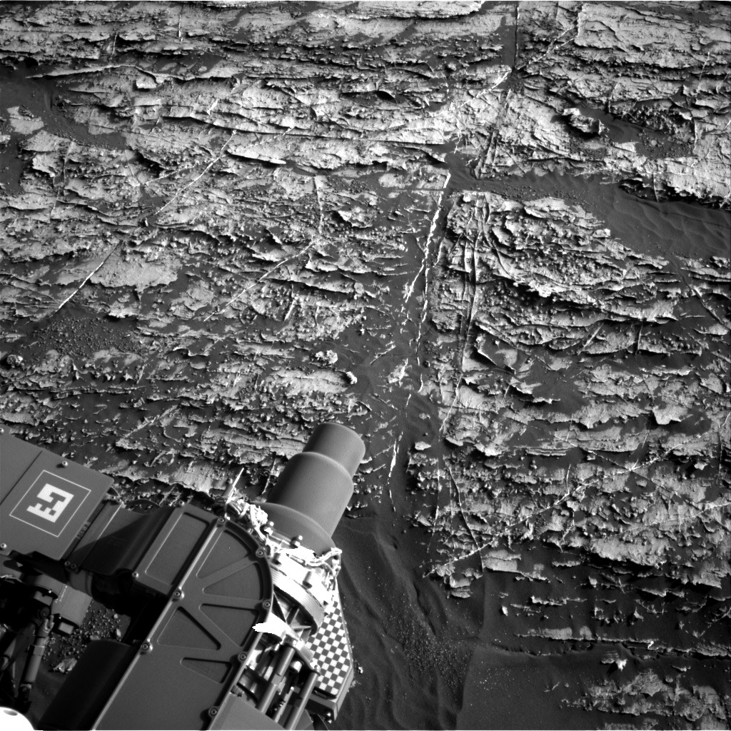NASA's Mars rover Curiosity acquired this image using its Right Navigation Cameras (Navcams) on Sol 1802