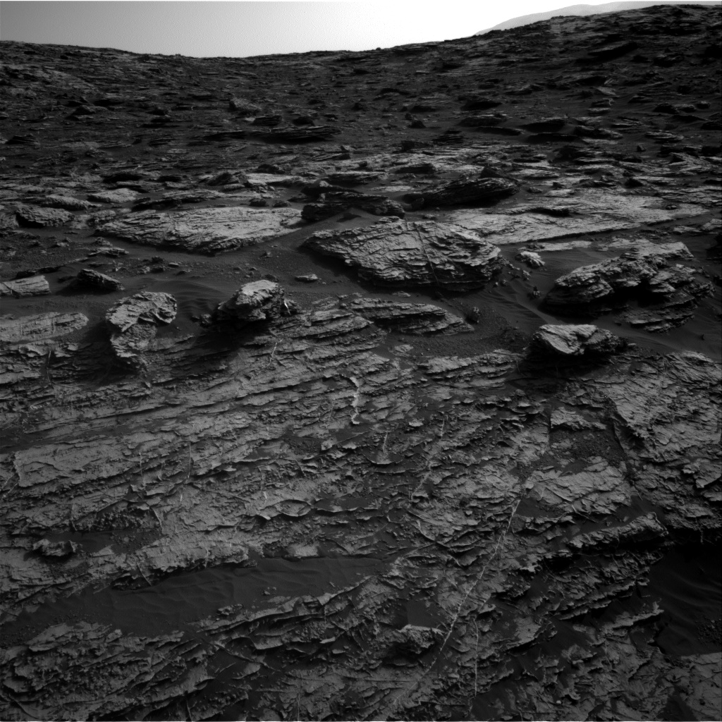 Nasa's Mars rover Curiosity acquired this image using its Right Navigation Camera on Sol 1802, at drive 2882, site number 65