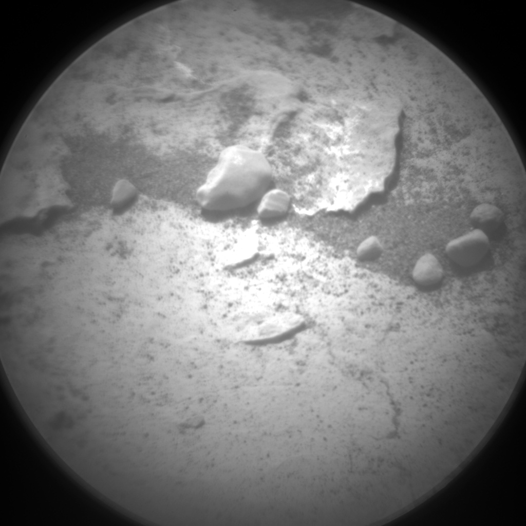 Nasa's Mars rover Curiosity acquired this image using its Chemistry & Camera (ChemCam) on Sol 1803, at drive 2882, site number 65