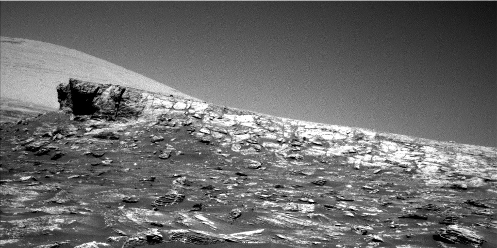 Nasa's Mars rover Curiosity acquired this image using its Left Navigation Camera on Sol 1803, at drive 2882, site number 65