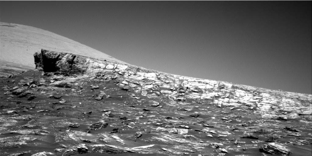 NASA's Mars rover Curiosity acquired this image using its Right Navigation Cameras (Navcams) on Sol 1803