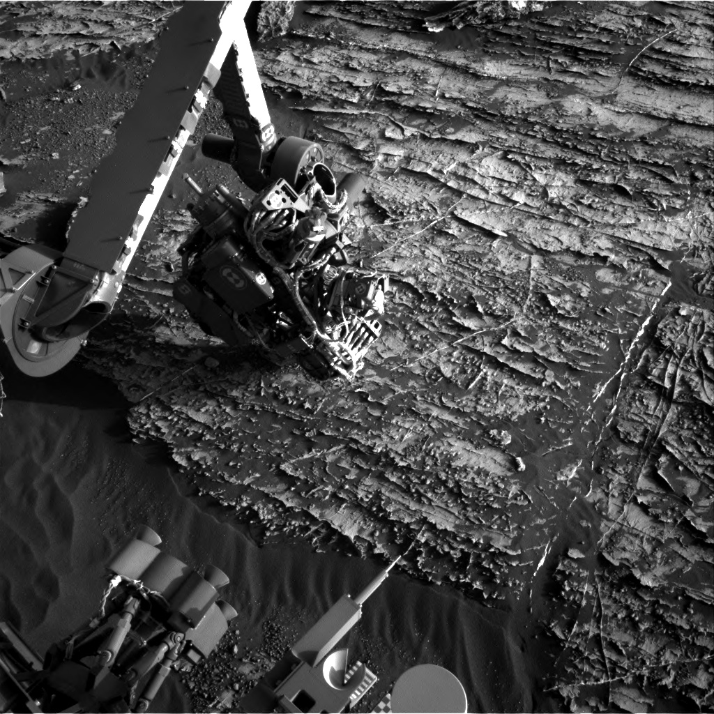 Nasa's Mars rover Curiosity acquired this image using its Right Navigation Camera on Sol 1805, at drive 2882, site number 65