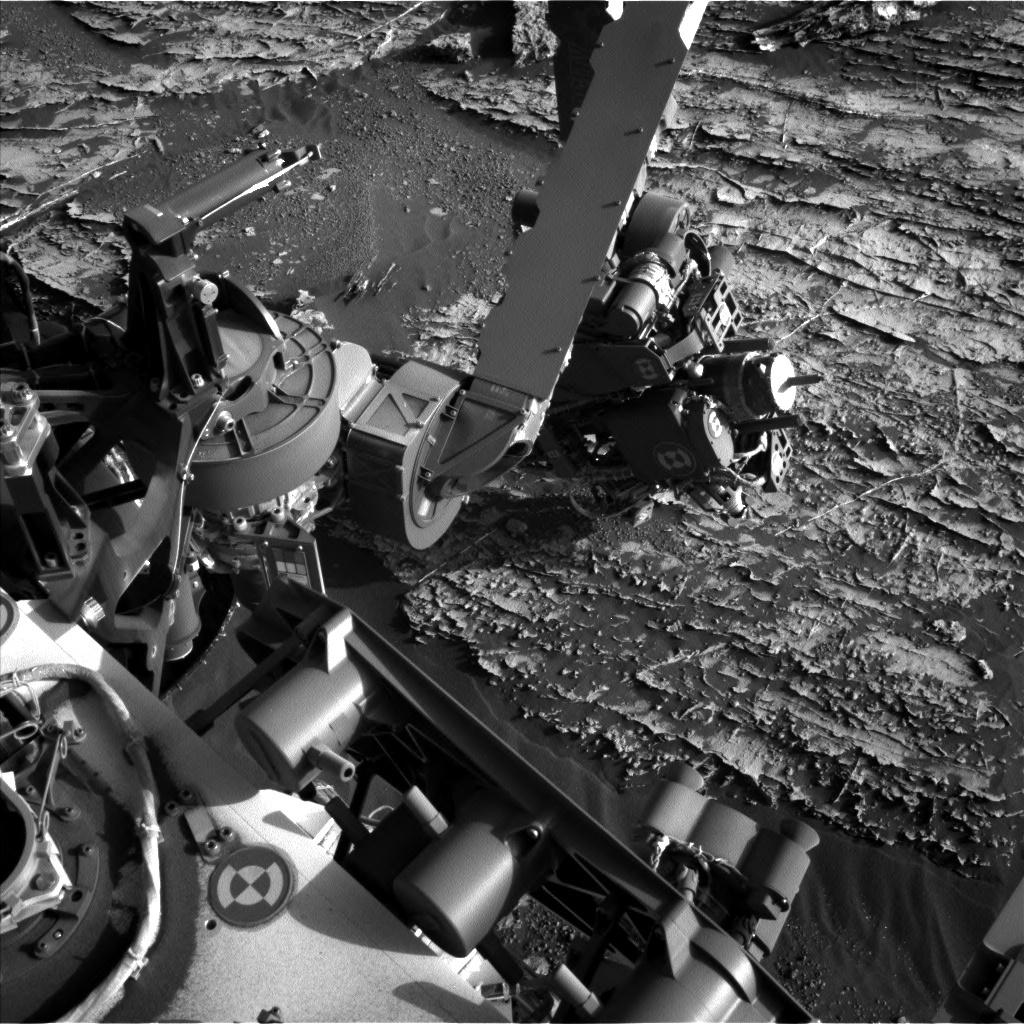 NASA's Mars rover Curiosity acquired this image using its Left Navigation Camera (Navcams) on Sol 1806