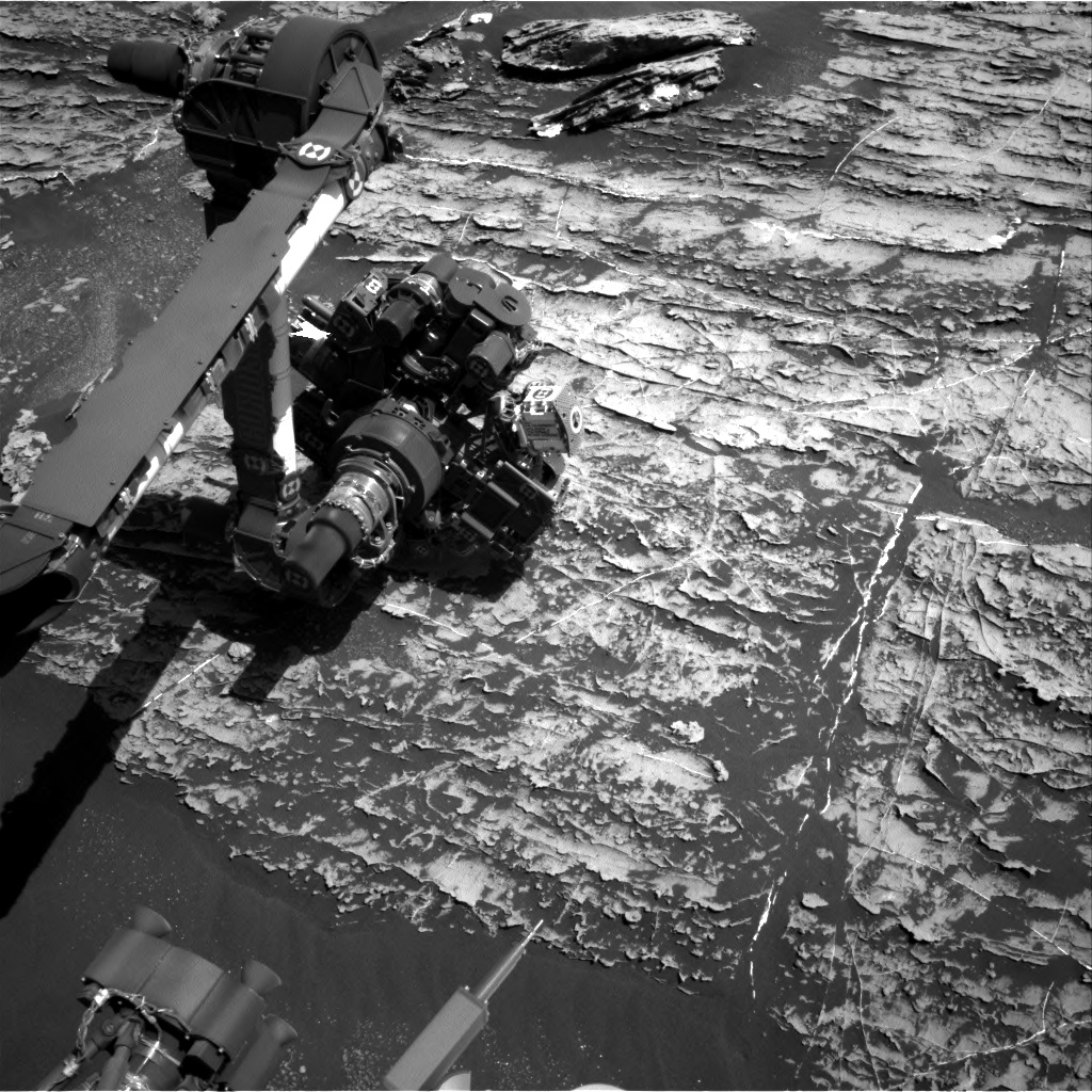 Nasa's Mars rover Curiosity acquired this image using its Right Navigation Camera on Sol 1806, at drive 2882, site number 65
