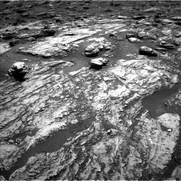 Nasa's Mars rover Curiosity acquired this image using its Left Navigation Camera on Sol 1807, at drive 2942, site number 65