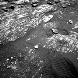 Nasa's Mars rover Curiosity acquired this image using its Left Navigation Camera on Sol 1807, at drive 2960, site number 65