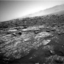 Nasa's Mars rover Curiosity acquired this image using its Left Navigation Camera on Sol 1807, at drive 2966, site number 65