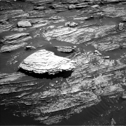 Nasa's Mars rover Curiosity acquired this image using its Left Navigation Camera on Sol 1807, at drive 2984, site number 65