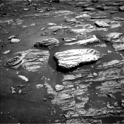 Nasa's Mars rover Curiosity acquired this image using its Left Navigation Camera on Sol 1807, at drive 3008, site number 65
