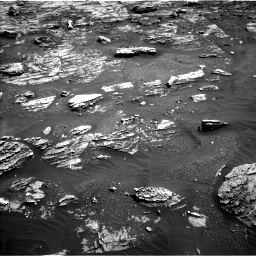 Nasa's Mars rover Curiosity acquired this image using its Left Navigation Camera on Sol 1807, at drive 3110, site number 65