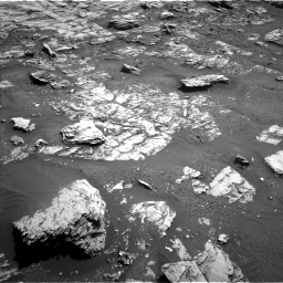 Nasa's Mars rover Curiosity acquired this image using its Left Navigation Camera on Sol 1807, at drive 3164, site number 65