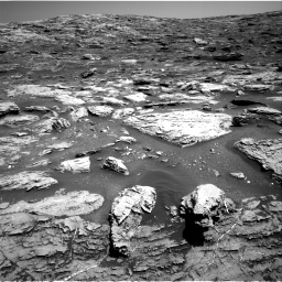 Nasa's Mars rover Curiosity acquired this image using its Right Navigation Camera on Sol 1807, at drive 2900, site number 65