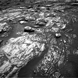 Nasa's Mars rover Curiosity acquired this image using its Right Navigation Camera on Sol 1807, at drive 2918, site number 65