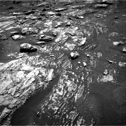 Nasa's Mars rover Curiosity acquired this image using its Right Navigation Camera on Sol 1807, at drive 2924, site number 65