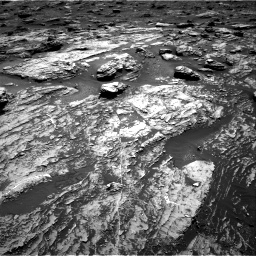 Nasa's Mars rover Curiosity acquired this image using its Right Navigation Camera on Sol 1807, at drive 2942, site number 65