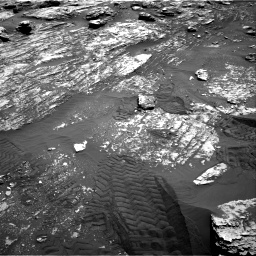 Nasa's Mars rover Curiosity acquired this image using its Right Navigation Camera on Sol 1807, at drive 2966, site number 65