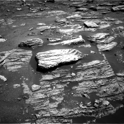 Nasa's Mars rover Curiosity acquired this image using its Right Navigation Camera on Sol 1807, at drive 3008, site number 65