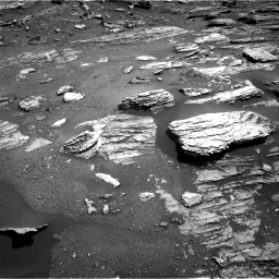 Nasa's Mars rover Curiosity acquired this image using its Right Navigation Camera on Sol 1807, at drive 3014, site number 65
