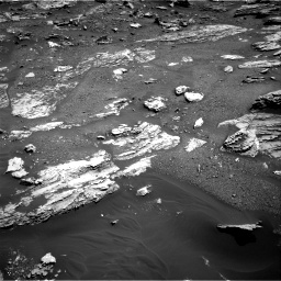 Nasa's Mars rover Curiosity acquired this image using its Right Navigation Camera on Sol 1807, at drive 3032, site number 65