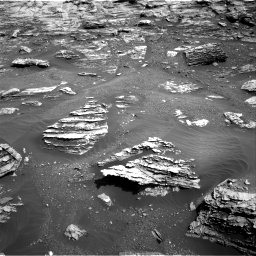 Nasa's Mars rover Curiosity acquired this image using its Right Navigation Camera on Sol 1807, at drive 3074, site number 65