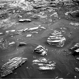 Nasa's Mars rover Curiosity acquired this image using its Right Navigation Camera on Sol 1807, at drive 3086, site number 65
