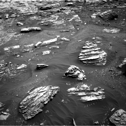 Nasa's Mars rover Curiosity acquired this image using its Right Navigation Camera on Sol 1807, at drive 3098, site number 65