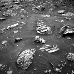 Nasa's Mars rover Curiosity acquired this image using its Right Navigation Camera on Sol 1807, at drive 3116, site number 65