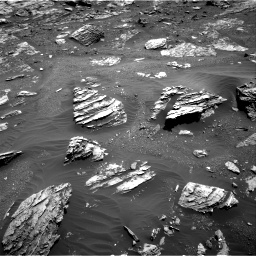 Nasa's Mars rover Curiosity acquired this image using its Right Navigation Camera on Sol 1807, at drive 3122, site number 65