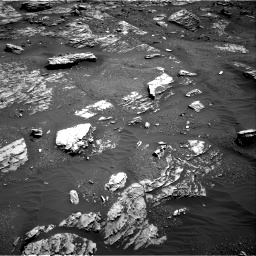 Nasa's Mars rover Curiosity acquired this image using its Right Navigation Camera on Sol 1807, at drive 3146, site number 65