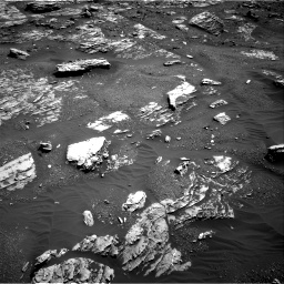 Nasa's Mars rover Curiosity acquired this image using its Right Navigation Camera on Sol 1807, at drive 3152, site number 65