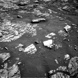 Nasa's Mars rover Curiosity acquired this image using its Right Navigation Camera on Sol 1807, at drive 3158, site number 65