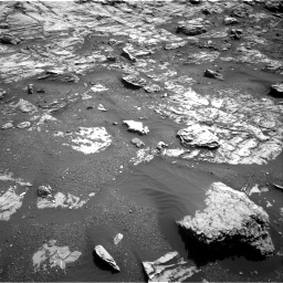 Nasa's Mars rover Curiosity acquired this image using its Right Navigation Camera on Sol 1807, at drive 3176, site number 65