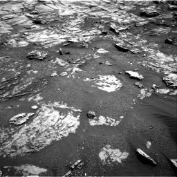 Nasa's Mars rover Curiosity acquired this image using its Right Navigation Camera on Sol 1807, at drive 3182, site number 65