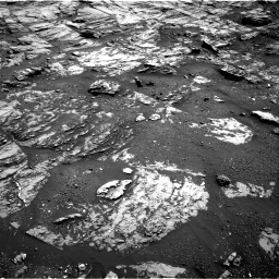 Nasa's Mars rover Curiosity acquired this image using its Right Navigation Camera on Sol 1807, at drive 3194, site number 65
