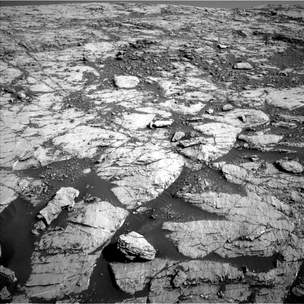 Nasa's Mars rover Curiosity acquired this image using its Left Navigation Camera on Sol 1809, at drive 3248, site number 65