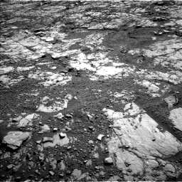 Nasa's Mars rover Curiosity acquired this image using its Left Navigation Camera on Sol 1809, at drive 3278, site number 65