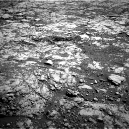 Nasa's Mars rover Curiosity acquired this image using its Left Navigation Camera on Sol 1809, at drive 3308, site number 65