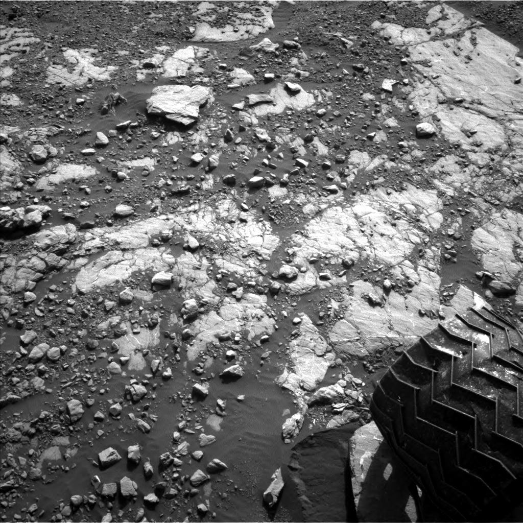 NASA's Mars rover Curiosity acquired this image using its Left Navigation Camera (Navcams) on Sol 1809