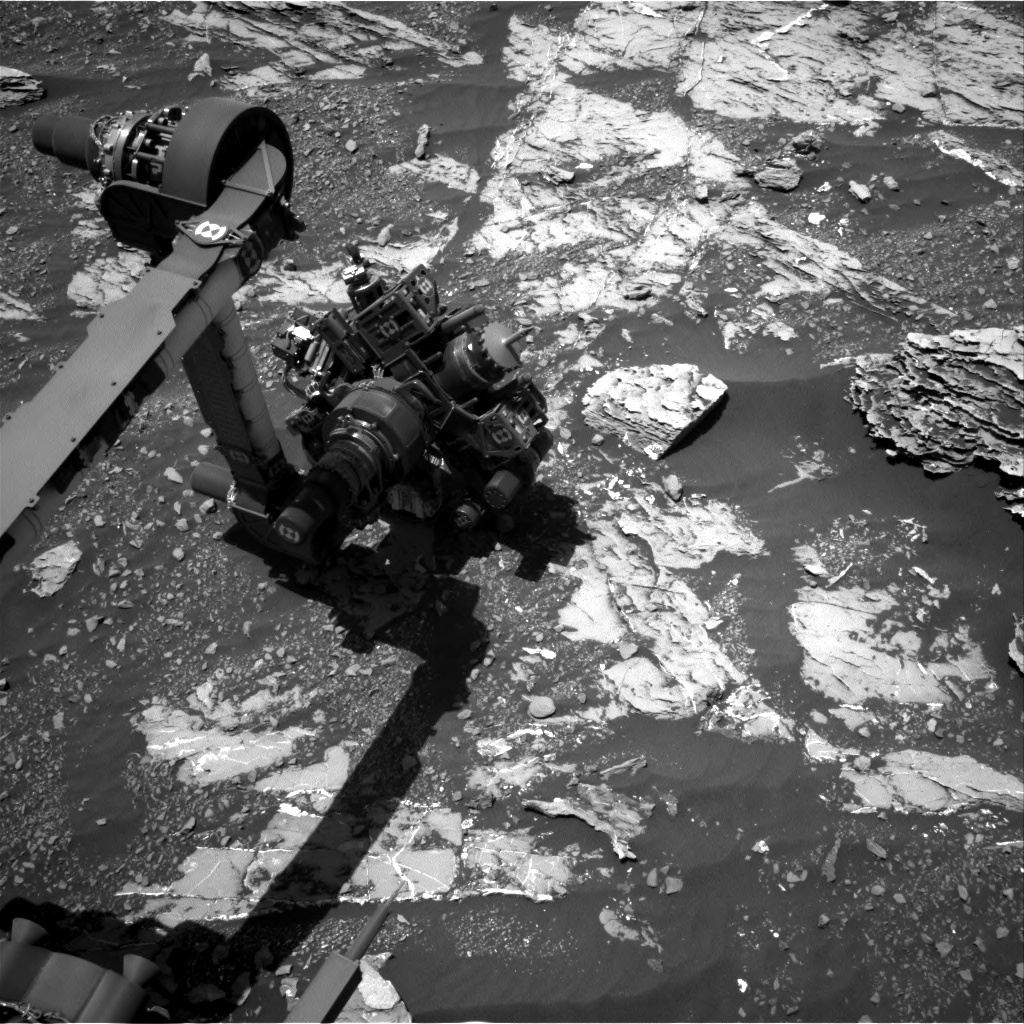 NASA's Mars rover Curiosity acquired this image using its Right Navigation Cameras (Navcams) on Sol 1809