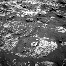 Nasa's Mars rover Curiosity acquired this image using its Right Navigation Camera on Sol 1809, at drive 3200, site number 65