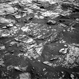 Nasa's Mars rover Curiosity acquired this image using its Right Navigation Camera on Sol 1809, at drive 3212, site number 65