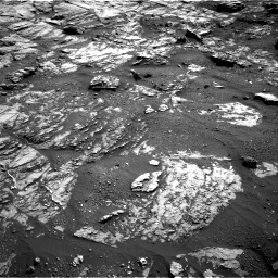 Nasa's Mars rover Curiosity acquired this image using its Right Navigation Camera on Sol 1809, at drive 3218, site number 65